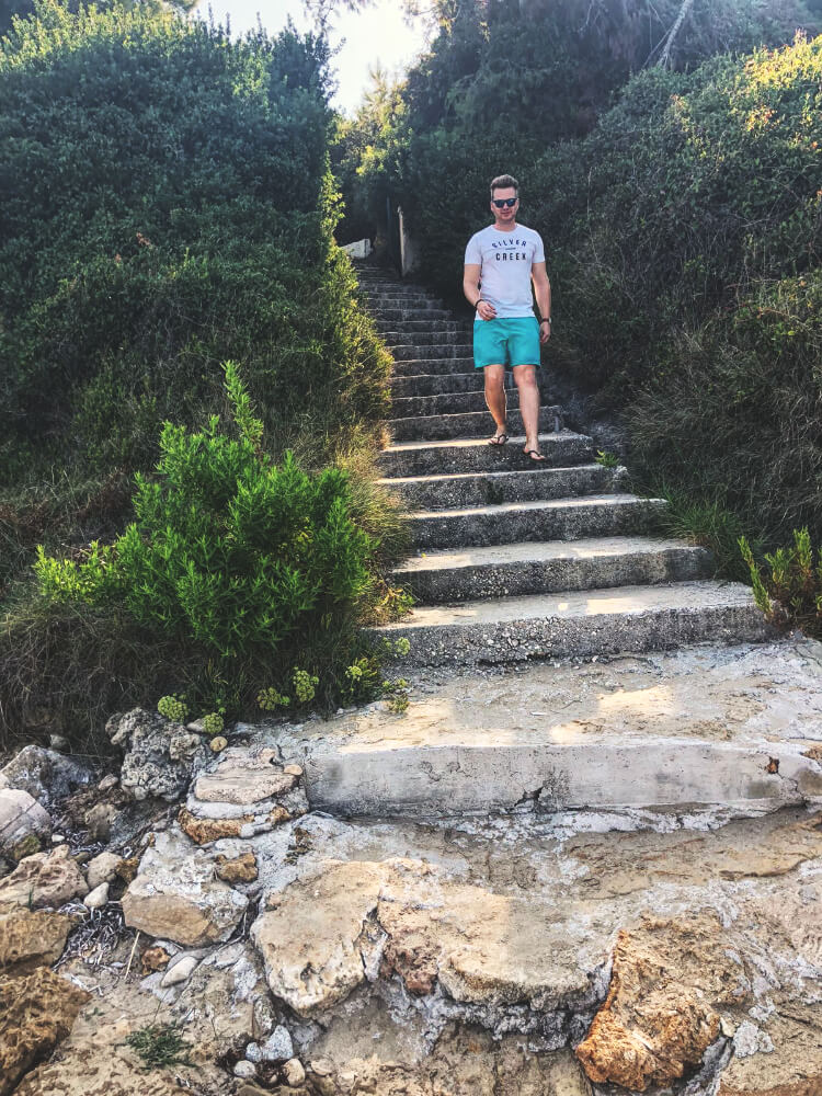 Stairs in Kefalonia